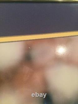 Randy Moss Minnesota Vikings Autographed 16x20 Framed Photo #'d 1/84 (UDA)
