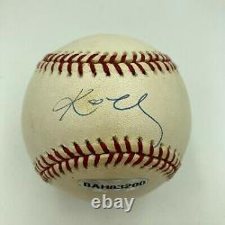 Rare Kobe Bryant Signed Major League Baseball Upper Deck UDA Holo & JSA COA