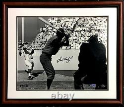 Sandy Koufax Dodgers signed 16x20 photo framed auto Hof Mlb holo UDA COA /32