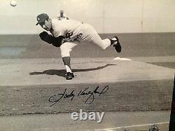 Sandy Koufax Signed LA Dodgers Framed Panoramic Photo LE132 UDA BAJ85579