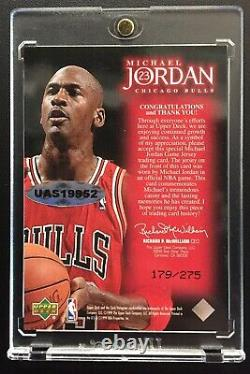 Signed 1999 Michael Jordan Upper Deck Ud Employee Game Jersey Bulls Uda Coa Auto