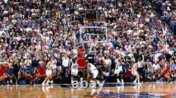 Signed Original 1998 Nike Air Jordan 14 Nba Finals Last Shot Shoes Autograph Uda