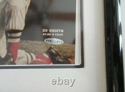 Ted Williams Signed Autograph Baseball Sports Illustrated Cover Uda Coa, Si