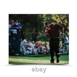 Tiger Woods Signed Autographed 20X24 Photo 2000 PGA Championship UDA