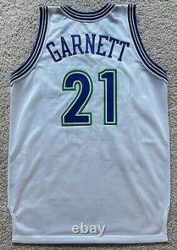 UDA Kevin Garnett autograph signed Rookie Jersey 95/96 Mitchell Ness LE/121
