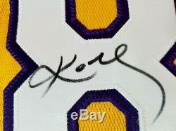 UDA Kobe Bryant signed Lakers Jersey Auto Autograph Upper Deck LE Black Mamba LA