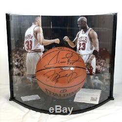 UDA Upper Deck Case Signed Jordan Pippen NBA Trikot Air Basketball Jersey Game I