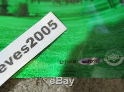 Upper Deck Tiger Woods Autographed Sweet Swing 44 x 18 Photograph #21 of 100 UDA