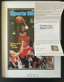 Upper Deck Uda Signed Michael Jordan A Star Is Born Autographed Si Cover