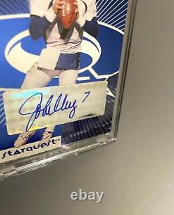 1998 Peyton Manning John Elway Rookie Auto Upper Deck Uda Bgs Autographe
