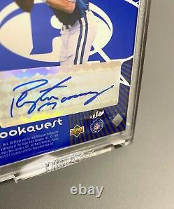 1998 Peyton Manning John Elway Rookie Auto Upper Deck Uda Choice Autographe