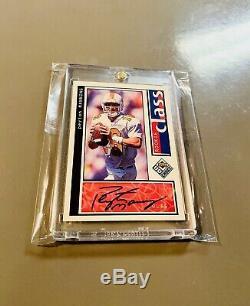 1998 Peyton Manning Upper Deck Rookie Auto Uda Choix Sp 1/1 Autograph