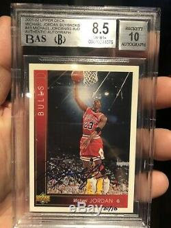 2001-02 Ud Michael Jordan Auto Buyback 01/10 1/1 Upper Deck Autograph Uda Sp Bgs