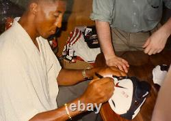 Chicago Bulls Scottie Pippen Signé Nike Game Shoes Limited Edition 14/33 Uda