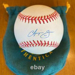 Chipper Jones A Signé La Ligue Nationale Autographiée Baseball Uda Upper Deck Coa