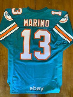 Dan Marino Signé Autographe Wilson Jersey Upper Deck Uda Coa /343