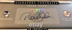 Derek Jeter Autograph 200 2005 Portraits De Pont Supérieurs, 8x10, Super Rare Uda Jeter Auto