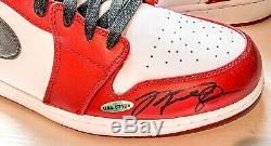 Fou Michael Air Jordan Retro Uda Signé Jordan 1 Chaussures Taille 13! À Voir