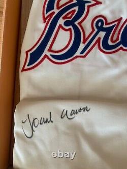 Hank Aaron Autograph 1974 Braves Home Jersey Uda Ud Autographed Auto