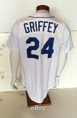Ken Griffey Jr A Signé 1989 M & N Rookie Mariners Jersey Auto Mint Uda Coa / 240