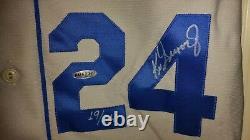 Ken Griffey Jr A Signé Auto Uda Psa / Dna Mariners 1989 Jersey Upper Deck Autographe