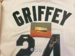 Ken Griffey Jr, Maillot Autographié, Upper Deck Authentifié (uda)