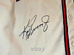Ken Griffey Jr Seattle Rainiers Hof Signé Auto L / E Minor League Jersey Boîte Uda