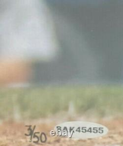 Ken Griffey Jr Signé 16x20 Uda Numéro Auto