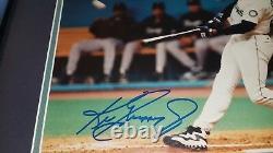 Ken Griffey Jr Signé Mariners Encadré Autographe 8x10 Photo Uda Upper Deck Coa