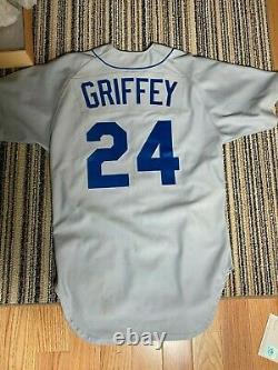 Ken Griffey Jr. Uda Deck Supérieur Signé Autographe 1989 Rookie Jersey 211/240 Withbox