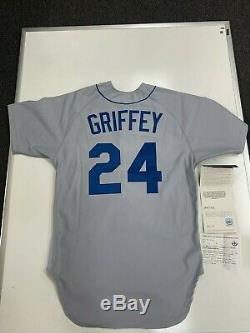 Ken Griffey Jr. Upper Deck Assermentée Uda Signé 1989 Rookie Jersey 23/240