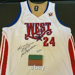 Kobe Bryant 10x All Star Signé 2008 All Star Game Jersey Uda Upper Deck Coa