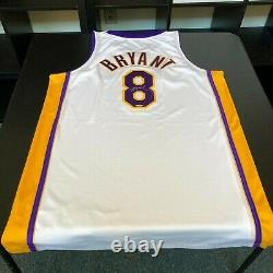 Kobe Bryant A Signé 2002-2003 Pro Cut Los Angeles Lakers Jersey Uda Upper Deck Coa