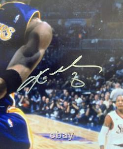 Kobe Bryant A Signé 8x10 Photo Uda Upper Deck All Star Game Dunk Lakers Autograph