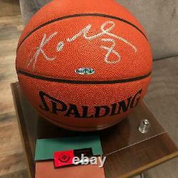 Kobe Bryant A Signé Auto Officiel Spalding Nba Basketball Lakers Uda Upper Deck