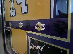Kobe Bryant Autograph Signé Uda Upper Deck Hologram Jersey Auto Framed