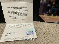 Kobe Bryant Autographié 8x10 Uda Upper Deck Photo Auto Signé Portfoliobook Rare