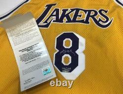 Kobe Bryant Autographié Lakers 1979-80 Throwback Authentic Jersey Uda Le 108/108
