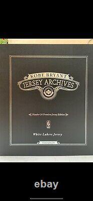 Kobe Bryant Jersey Autographié Pont Supérieur Uda Signé Auto 24/24 Carpie Diem