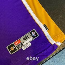 Kobe Bryant Signé 1999 Los Angeles Lakers Jeu Émis Jersey Uda Upper Deck Coa