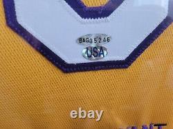 Kobe Bryant Signé Autographied Uda Jersey #4/08 Ultra Rare