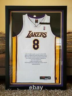 Kobe Bryant Signé Autographied Uda Jersey Score Streak #/50 Ultra Rare