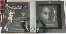 Kobe Bryant Signé Carpe Diem 12/24 Uda Jersey Archive Ultra Rare