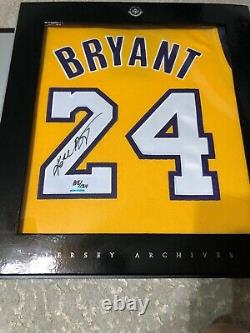 Kobe Bryant Signed Lakers Home #24 Debut Jersey Archives 85/124 Auto Uda Hof