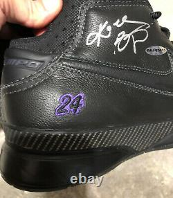 Kobe Bryant Uda Signé Nike Zoom Air 1 Promo Pe Chaussures Lakers Upper Deck Auto Zk1