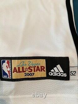 Kobe Bryant Upper Deck 2007 Nba Las Vegas All Star Game Signé Jersey Uda #d 124