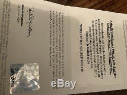 Kobe Bryant Upper Deck Uda Jersey Auto Signé Inscribed Limitée 24 Box Archive P