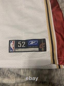 Lebron Autographié Rookie Jersey Cavaliers Uda Coa Signé Peinture Argent