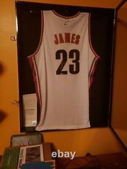 Lebron James #23 Signé 2003 Rookie Jersey Autographié Reebok Sz 52 Uda Coa Auto