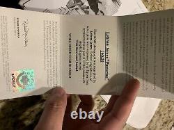 Lebron James A Signé Photo Uda Posterize 16x20 Upper Deck Card Inclus